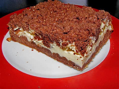 quark kuchen polnischer schoko quark kuchen rezept mit bild