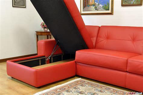divani letto con contenitore divano angolare con letto matrimoniale e penisola contenitore