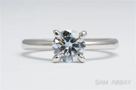 prices four prong solitaire engagement ring make your own