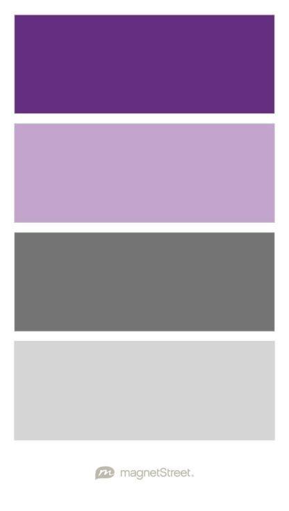 25 best ideas about purple silver wedding on