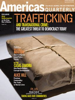 trafficking and global crime trafficking and transnational crime americas quarterly