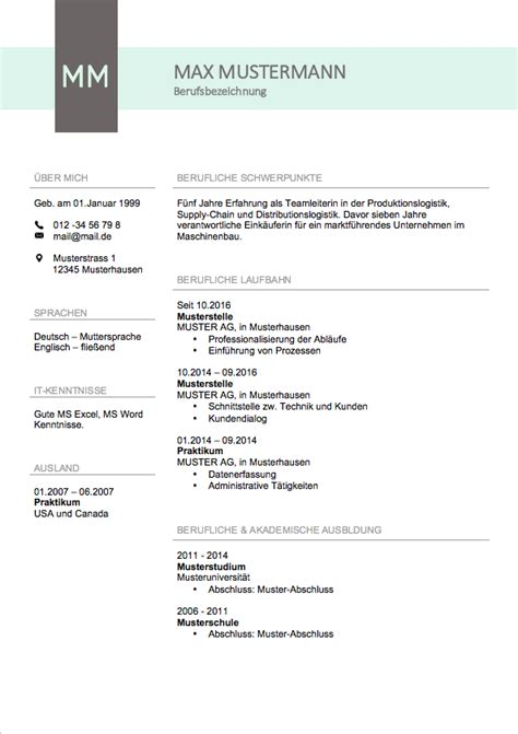 Lebenslauf Englisch Usa Vorlage Lebenslauf Muster 2017 Meinebewerbung Net
