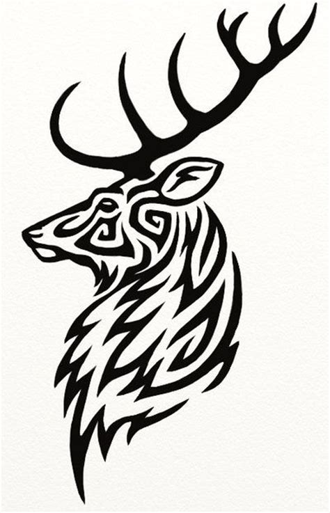 Stag Head Designs by 25 Best Ideas About Stag Head On Pinterest Deer Head
