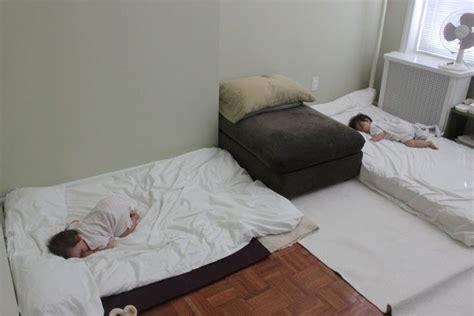 bed on the floor sleeping for twins the montessori way this mom skipped