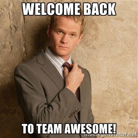 Welcome Back Meme - meme welcome back welcome free download funny cute memes