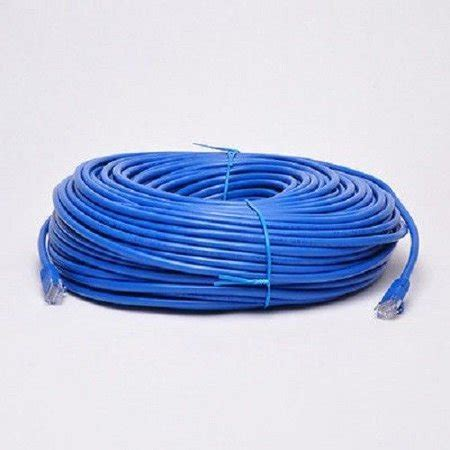 100 Ft Cat6 Ethernet Cable Walmart by 100 Ft Cat6 23 Awg Rj45 Ethernet Network Lan Patch Cable