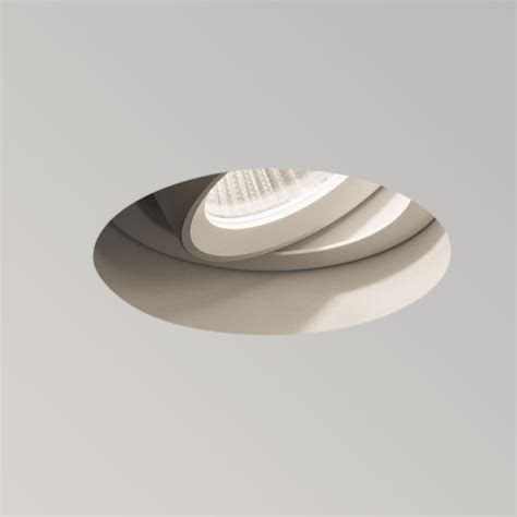 Astro Trimless Round Led Adjustable Downlight Fitting Types Of Recessed Ceiling Lights