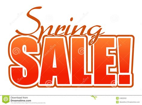 orange sales spring sale orange illustration sign stock vector image
