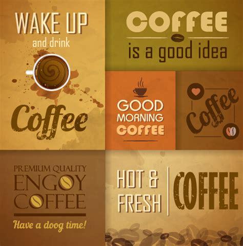 design menu coffee retro design coffee menu cover vector 03 vector cover