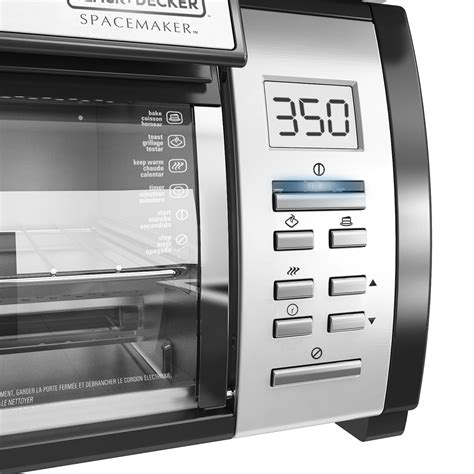 Spacemaker Toaster Oven Black And Decker Spacemaker Toaster Oven Tros1000d