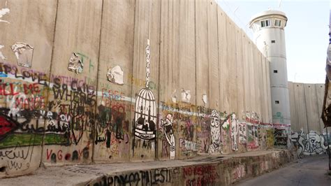the separation the separation barrier more accurately know as the apartheid wall katie duffus
