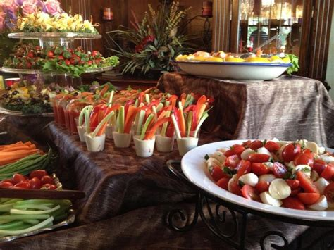 Appetizer Table by Appetizer Table Display Appetizers