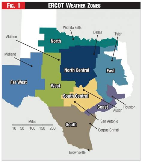 texas electric utility map ercot zones gallery