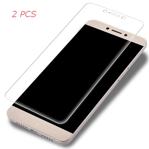 Murah Tempered Glass Zb Coolpad Max Packing 2pcs anti explosion tempered glass screen protector for letv leeco le max 2 sale banggood