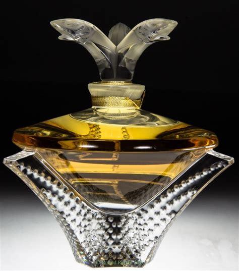 lalique de lalique cascade crystal flacon lalique perfume