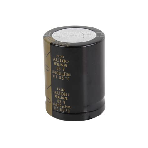 elna capacitor date code elna high quality electrolytic capacitor 10000 181 f 63v audiophonics