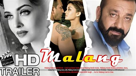 aishwarya rai upcoming movie 2018 malang trailer 2018 fanmade sanjay dutt and aishwarya