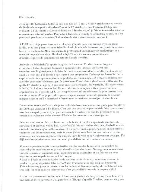 Informeller Brief Beispiel Brief Auf Englisch Images Frompo 1