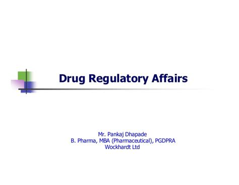 Mba In Regulatory Affairs by My By Cpatro S