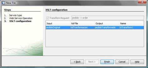 netbeans xslt tutorial transformaci 243 n de mensajes en soa con openesb