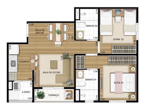 50m2 house design projeto apartamento 50m2 pesquisa google house plans