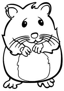 25 hamster coloring pages coloringstar