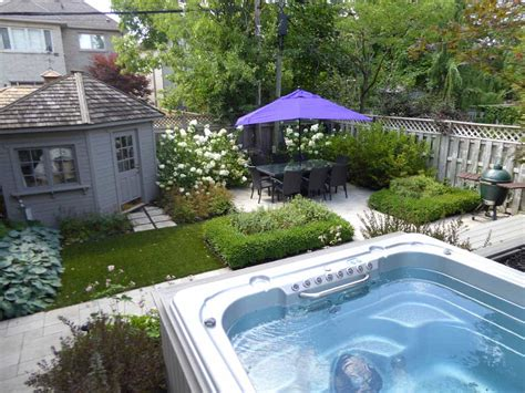 backyard spa toronto landscaping residential luxury design build architects dagracey