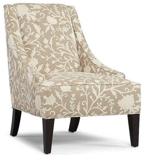 martha stewart fabric living room chair lansdale accent contemporary armchairs and accent