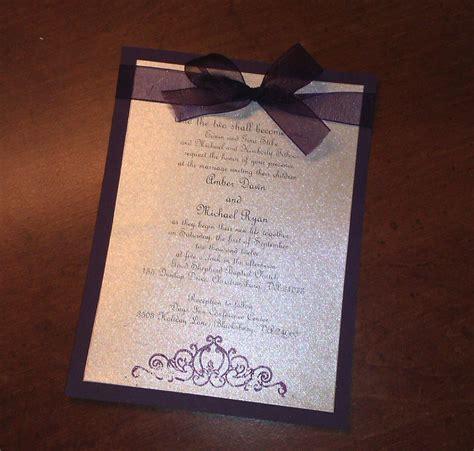 best 25 plum wedding invitations ideas on