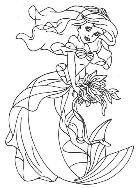 ariel dress coloring pages ariel dress colouring pages pinterest ariel dresses