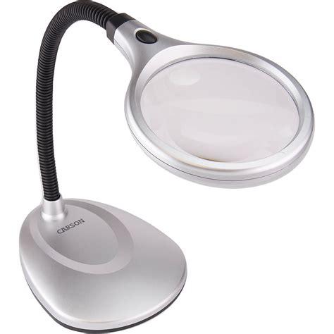 carson magnifier desk carson lm 20 deskbrite 200 2x led magnifier desk l lm 20mu