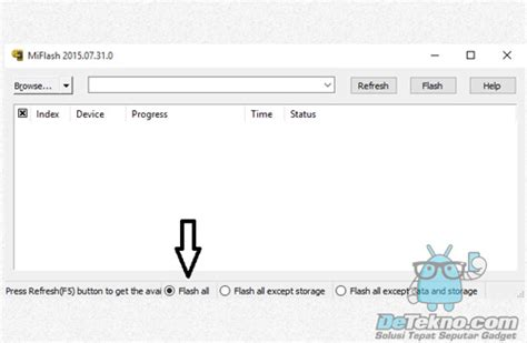tutorial flash via fastboot tutorial flashing xiaomi via fastboot mi flash detekno