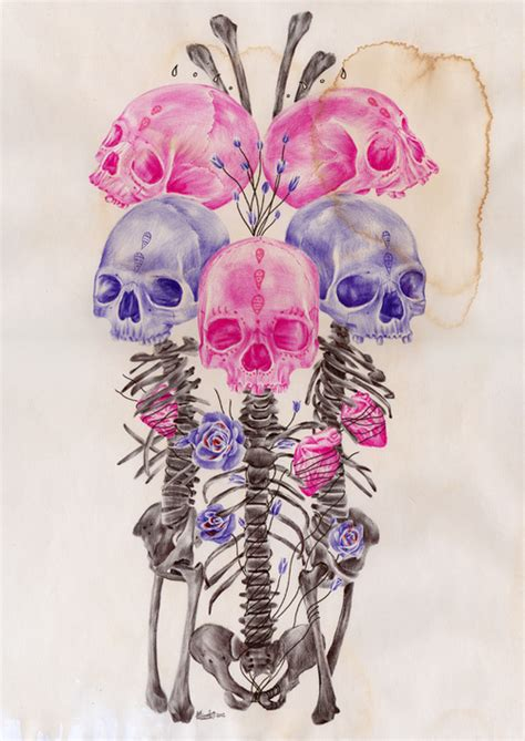 flower skull painting flowers skulls skulls fan 36136878 fanpop