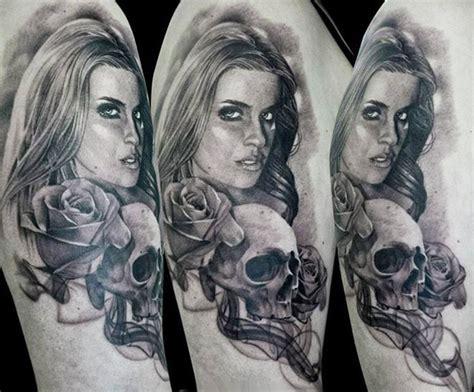 woman tattoo by gunnar v photo no 12829