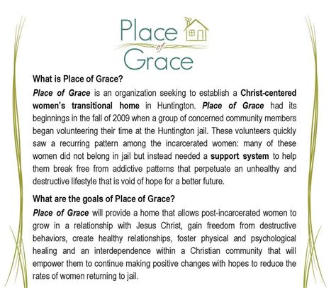 A Place Of Grace Place Of Grace Shares With The Club Rotary Club Of Huntington