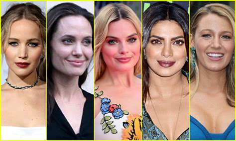 most famous actresses under 30 the 25 most popular actresses on just jared in 2016 2016