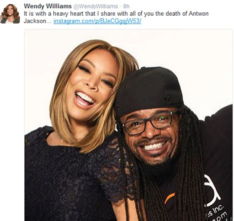 rip antwon jackson wendy williams wig maker wendy williams mourns her hairstylist wig maker antwon