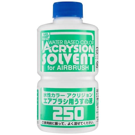 diskon mr acrysion 12 1 t 314 acrysion solvent for airbrush mr hobby t 314