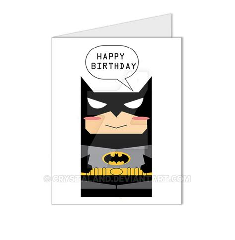 batman birthday card by scara1984 on deviantart batman the dark knight happy birthday card by crystaland