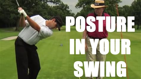 proper golf swing youtube proper posture in your golf swing with dr jim suttie youtube