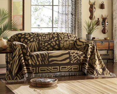 Seventh Avenue Home Decor safari furniture throw sofa from seventh avenue