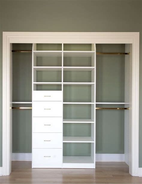 wandschrank klein closet idea entrance organisation de