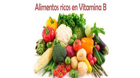 alimentos que contienen vitaminas b12 lista de alimentos que contienen vitamina b youtube