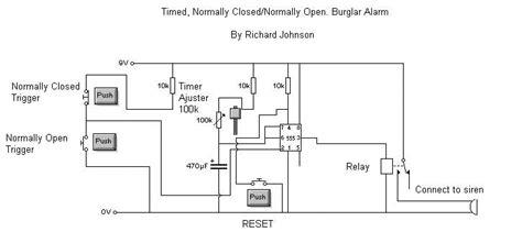 alarm bell wiring diagram alarm wiring diagram exles