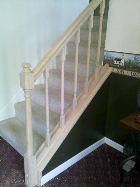 how to install a banister 1000 ideas about stair handrail on pinterest steel