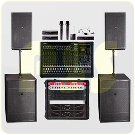 layout sound system panggung paket sound system panggung premium das audio paket