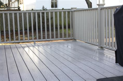 gray deck azek deck in grey