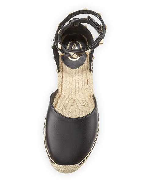 Zania Dress ash zania d orsay espadrille sandal in black lyst