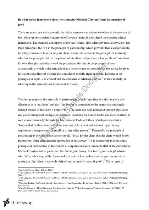 essay format usq essay in what moral framework does the character michael