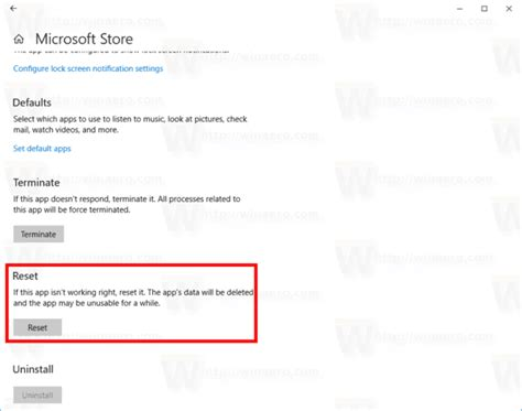 instapic windows apps on microsoft store how to reset the microsoft store app in windows 10